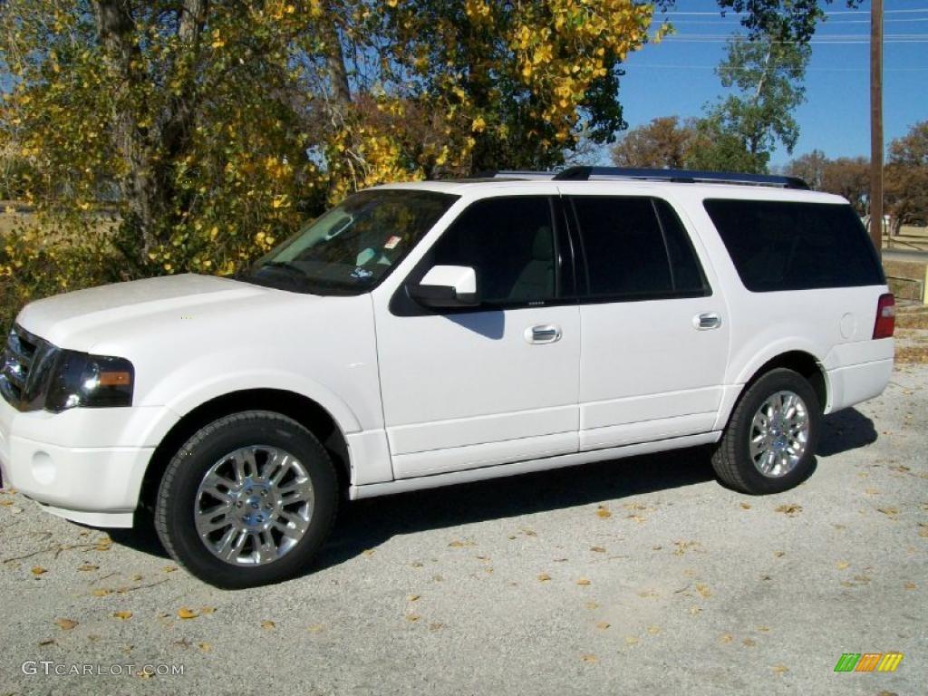 2011 white platinum tri coat ford expedition el limited. Black Bedroom Furniture Sets. Home Design Ideas