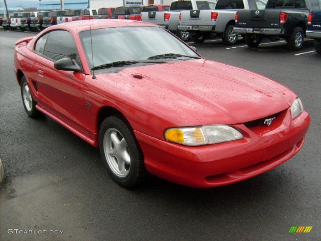 1996 ford mustang gt coupe exterior photos. Black Bedroom Furniture Sets. Home Design Ideas