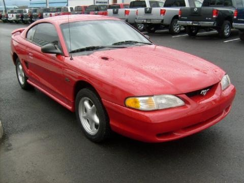 1996 Ford Mustang GT Coupe Data, Info and Specs