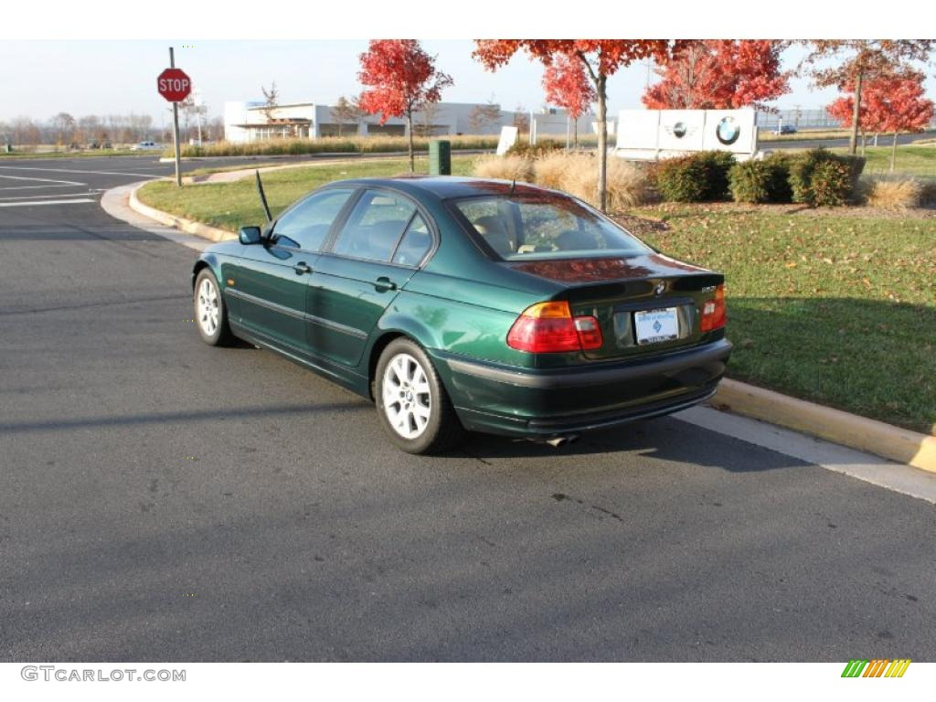 fern green metallic 1999 bmw 3 series 323i sedan exterior photo