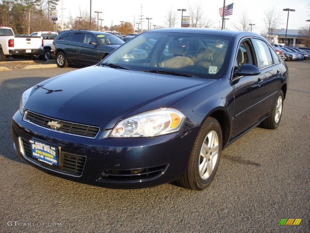 Imperial Blue Metallic 2007 Chevrolet Impala Ls Exterior Photo 40425708
