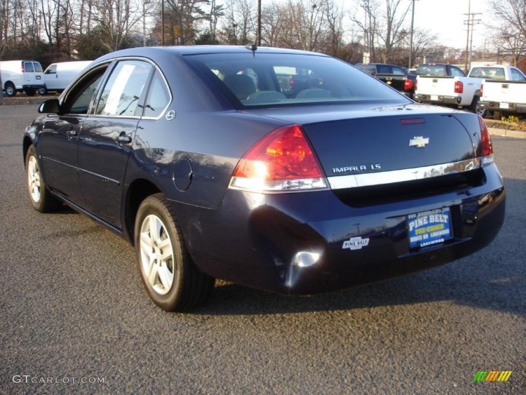 Imperial Blue Metallic 2007 Chevrolet Impala Ls Exterior Photo 40425788