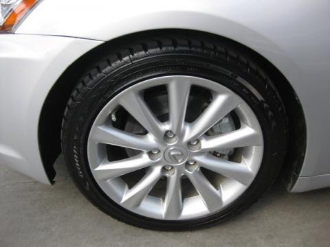 Lexus Is250 Black Wheels. 2010 Lexus IS 250 Wheel
