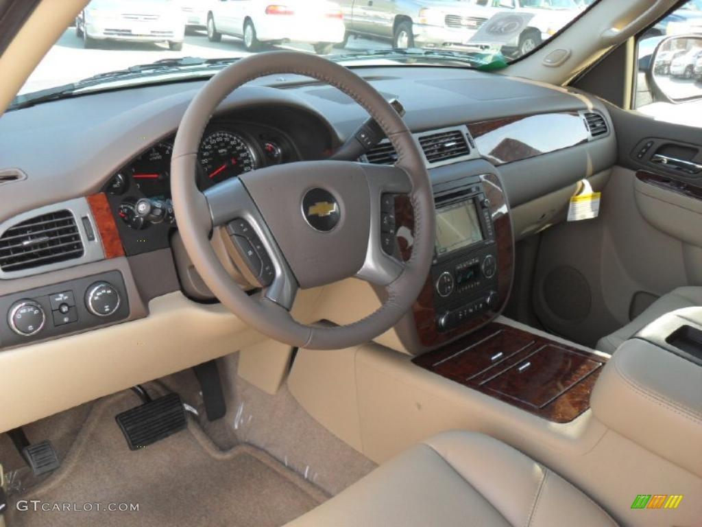 Light Cashmere Dark Cashmere Interior 2011 Chevrolet Tahoe Ltz 4x4 Photo 40428028