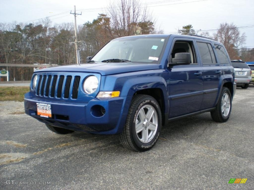 2010 deep water blue pearl jeep patriot sport 4x4. Black Bedroom Furniture Sets. Home Design Ideas