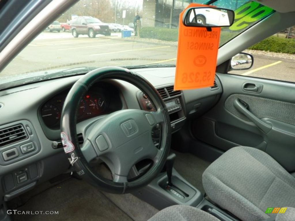 1999 Iced Teal Pearl Honda Civic Lx Sedan 40410464 Photo 11 Car Color Galleries