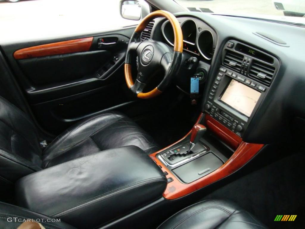 black interior 2001 lexus gs 430 photo 40432196. Black Bedroom Furniture Sets. Home Design Ideas