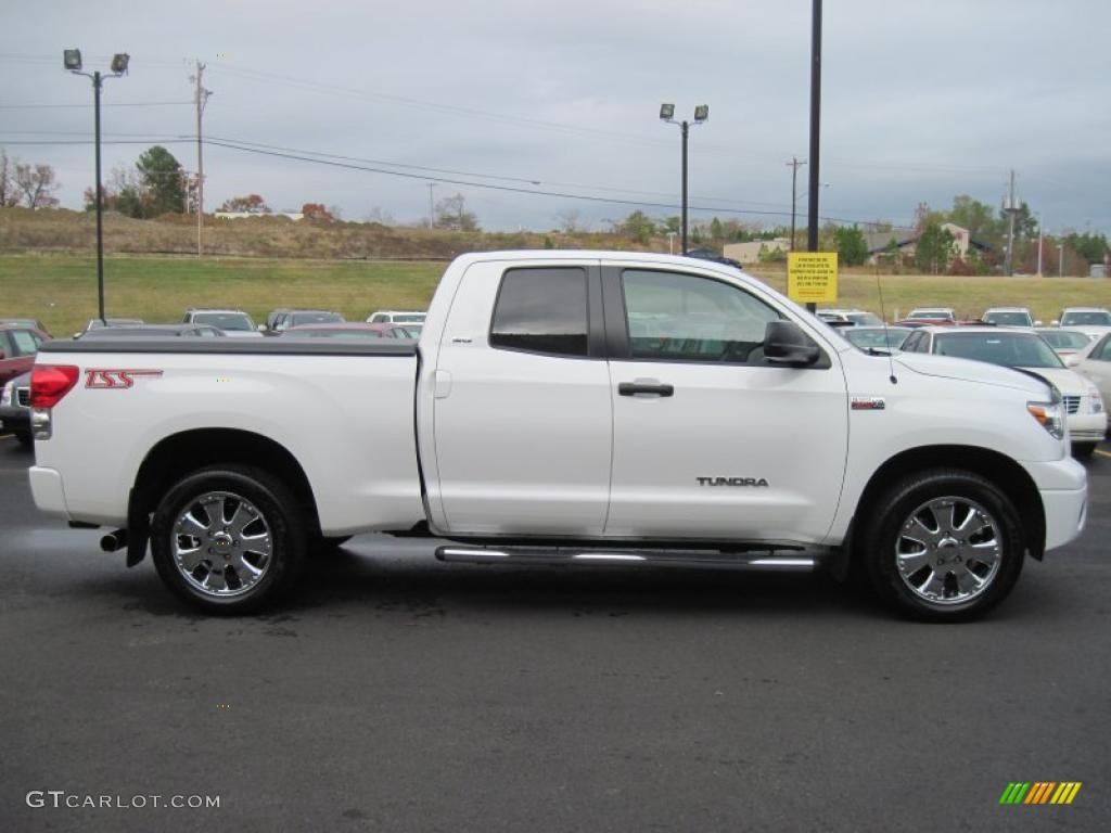 Super White 2007 Toyota Tundra SR5 TSS Double Cab Exterior Photo #40438176
