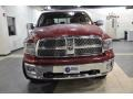 2011 Deep Cherry Red Crystal Pearl Dodge Ram 1500 Laramie Crew Cab  photo #3