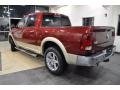2011 Deep Cherry Red Crystal Pearl Dodge Ram 1500 Laramie Crew Cab  photo #8