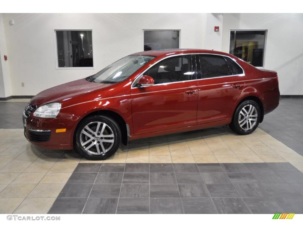 2006 spice red metallic volkswagen jetta tdi sedan 40410285 car color galleries. Black Bedroom Furniture Sets. Home Design Ideas