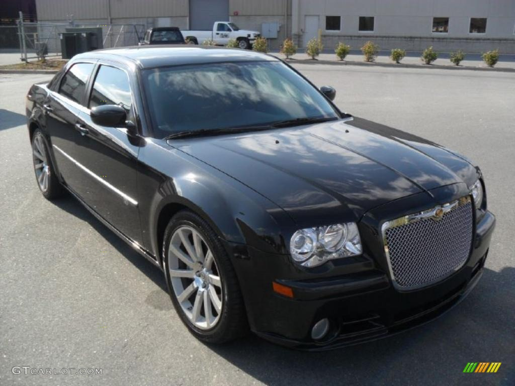 brilliant black crystal pearl 2008 chrysler 300 c srt8 exterior photo 40454445. Black Bedroom Furniture Sets. Home Design Ideas
