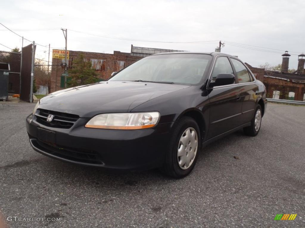 Nighthawk Black Pearl 2000 Honda Accord Lx Sedan Exterior