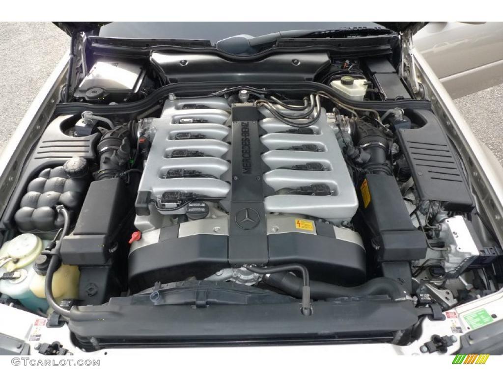 1998 mercedes benz sl 600 roadster 6 0 liter dohc 48 valve for Mercedes benz v12 engine