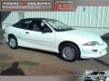 1999 Bright White Chevrolet Cavalier Z24 Convertible  photo #1