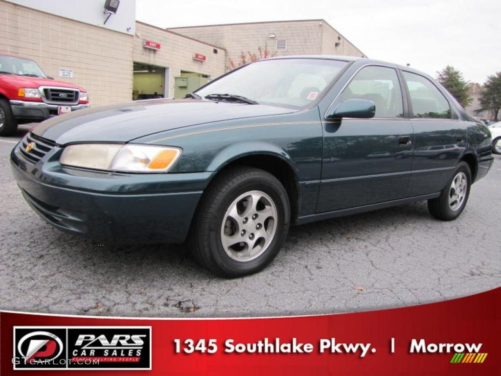 1997 toyota camry xle green viewing gallery