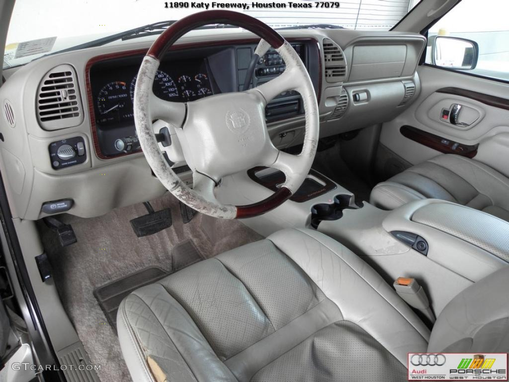 Cadillac cadillac escalade weight : Neutral Shale Interior 2000 Cadillac Escalade 4WD Photo #40484022 ...