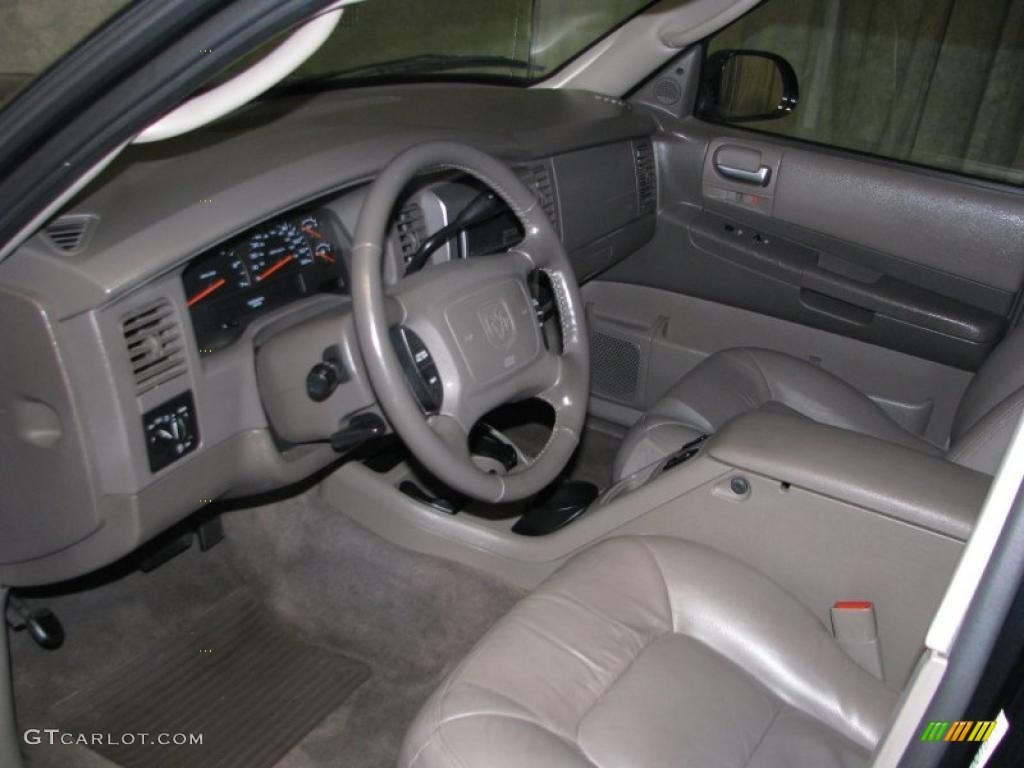 dark slate gray interior 2003 dodge durango slt photo. Black Bedroom Furniture Sets. Home Design Ideas
