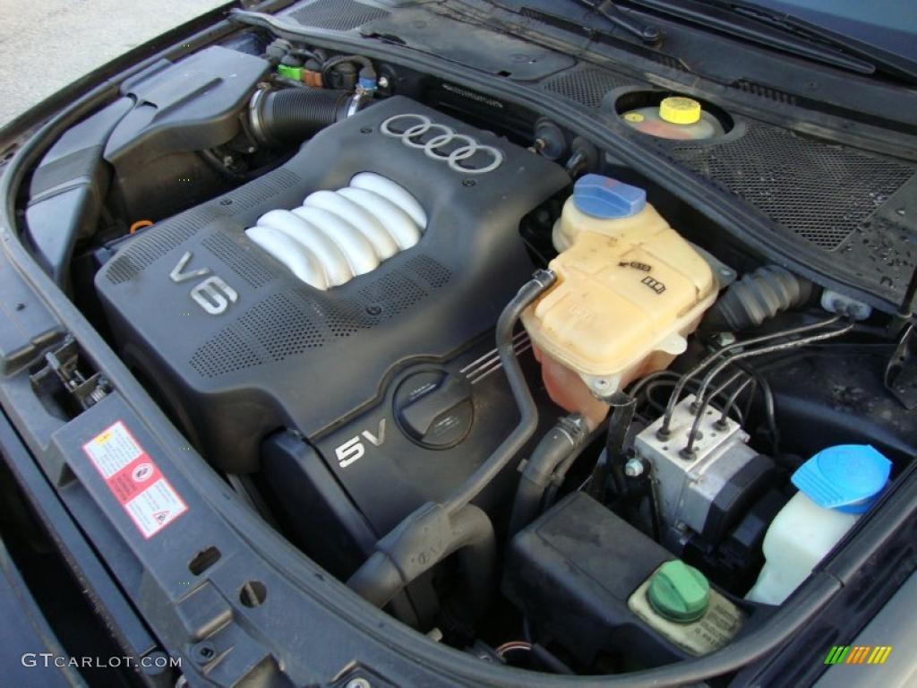 1999 Audi A4 28 Quattro Sedan Liter DOHC 30 Valve V6 Engine Photo 40491522