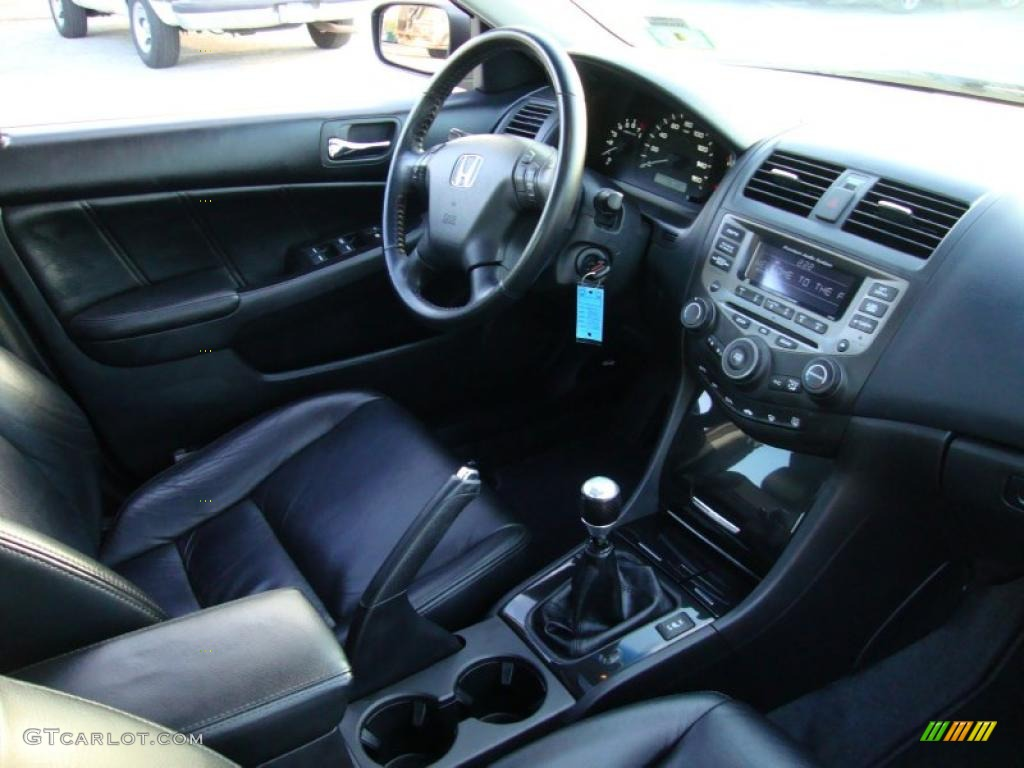 2006 Honda Accord Ex L V6 Sedan Black Dashboard Photo