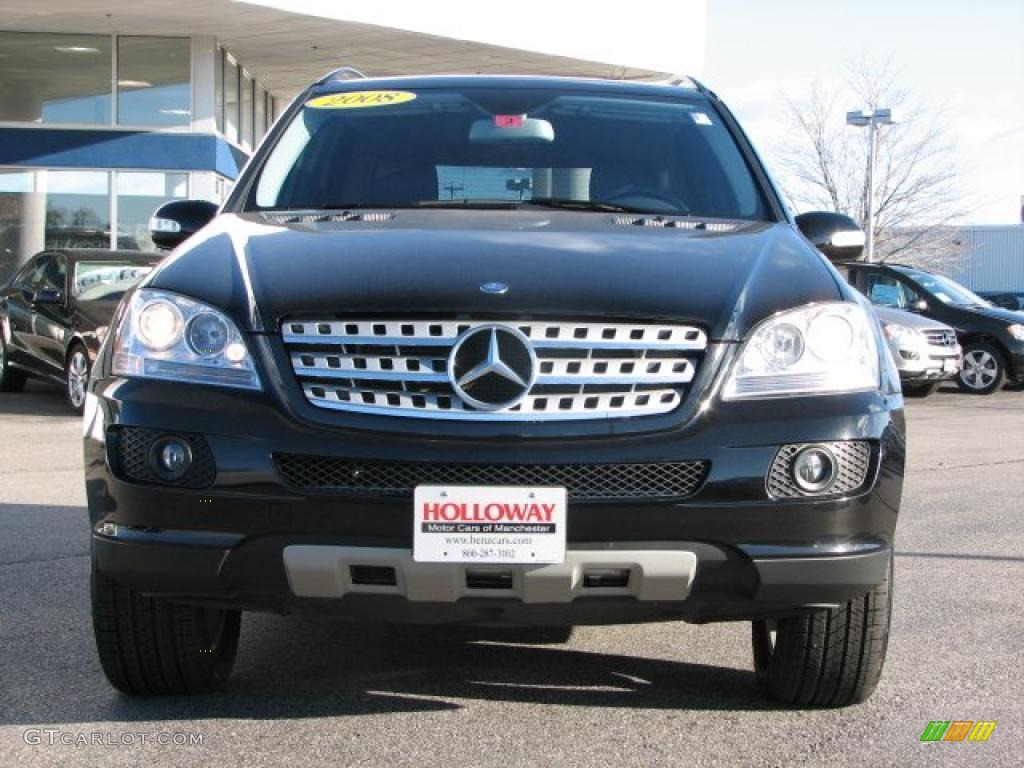 2008 obsidian black metallic mercedes benz ml 350 4matic for Mercedes benz ml 350 2008