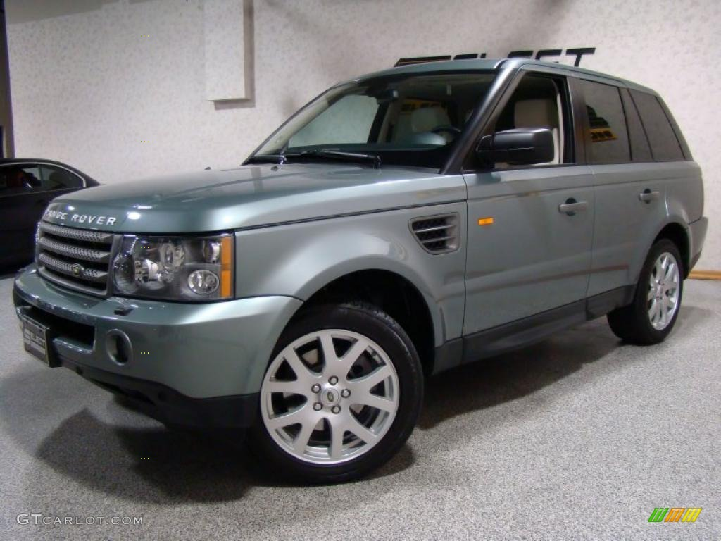 2007 giverny green metallic land rover range rover sport hse 40479060 car. Black Bedroom Furniture Sets. Home Design Ideas