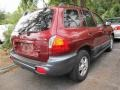 2004 Merlot Red Hyundai Santa Fe GLS  photo #2