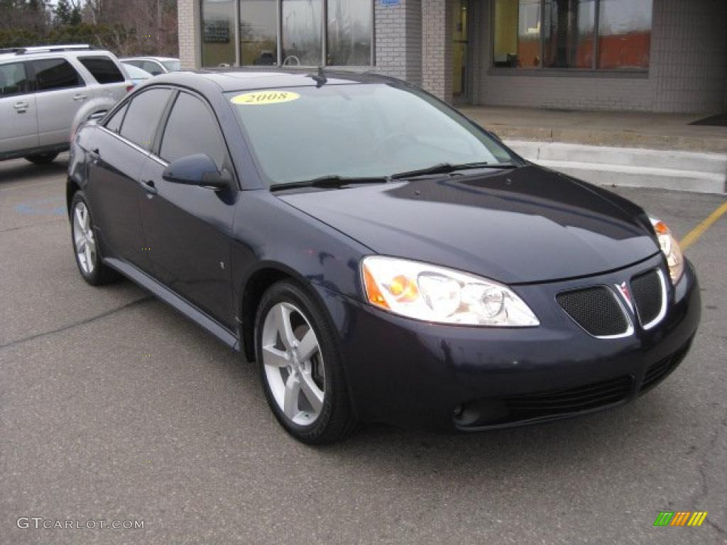 2008 Midnight Blue Metallic Pontiac G6 Gt Sedan 40479341