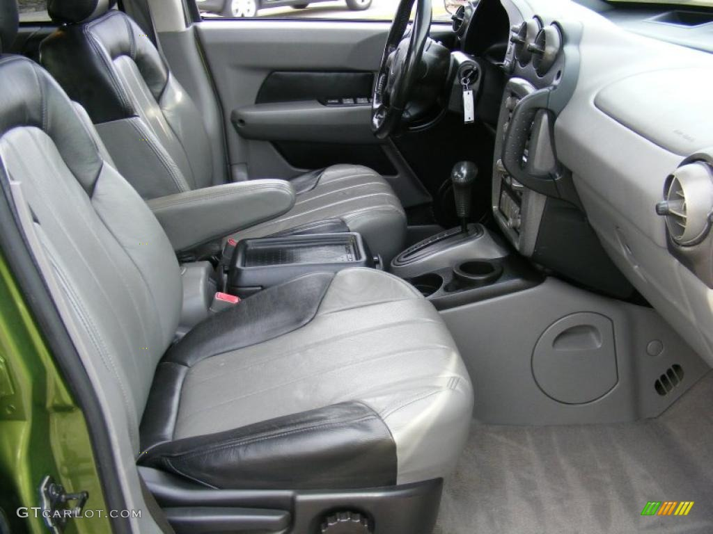 dark gray interior 2001 pontiac aztek gt awd photo. Black Bedroom Furniture Sets. Home Design Ideas