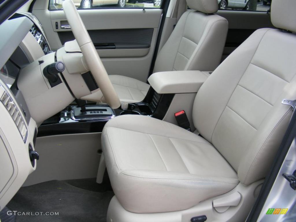 Stone Interior 2009 Ford Escape Hybrid Limited 4wd Photo 40503958