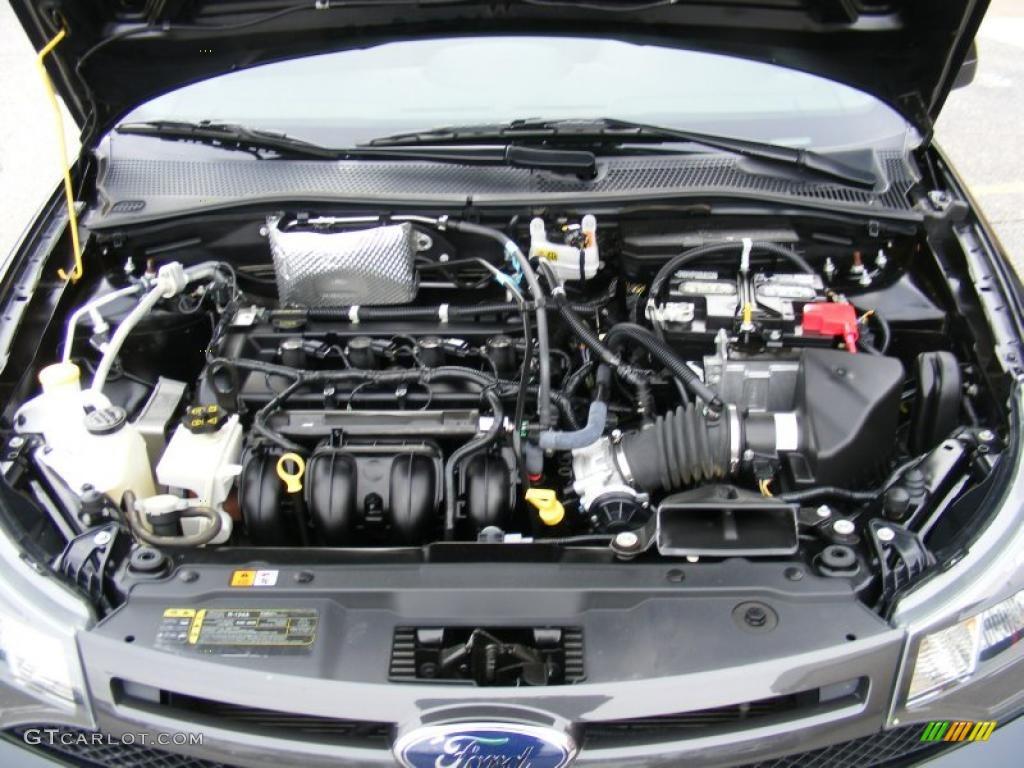 2010 ford focus ses coupe 2 0 liter dohc 16 valve vvt duratec 4 cylinder engine photo 40510062. Black Bedroom Furniture Sets. Home Design Ideas