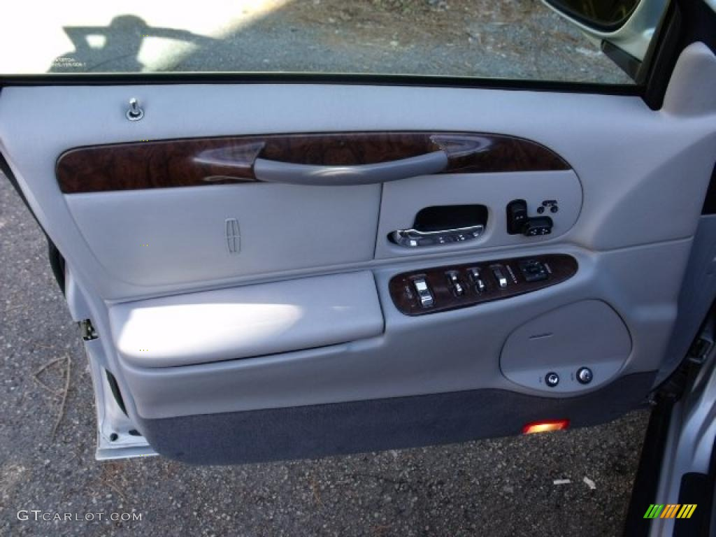 1999 lincoln town car signature light graphite door panel - Lincoln town car interior door parts ...