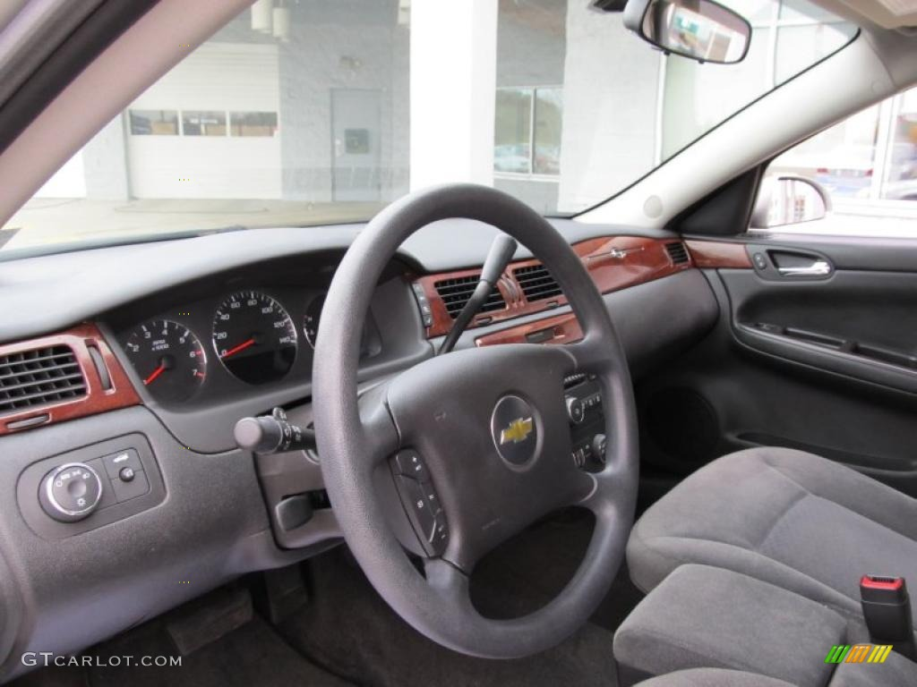 Gray Interior 2006 Chevrolet Impala Lt Photo 40512822