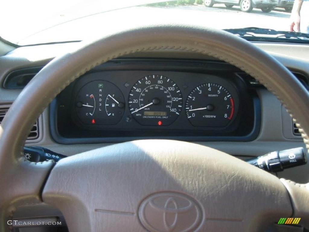 1999 Toyota Camry XLE V6 Gauges Photo #40515134 | GTCarLot.com