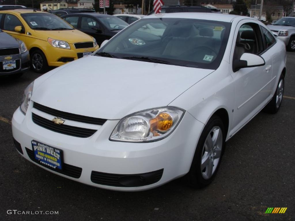 summit white 2007 chevrolet cobalt lt coupe exterior photo. Black Bedroom Furniture Sets. Home Design Ideas