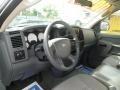 2006 Bright Silver Metallic Dodge Ram 1500 ST Quad Cab  photo #7