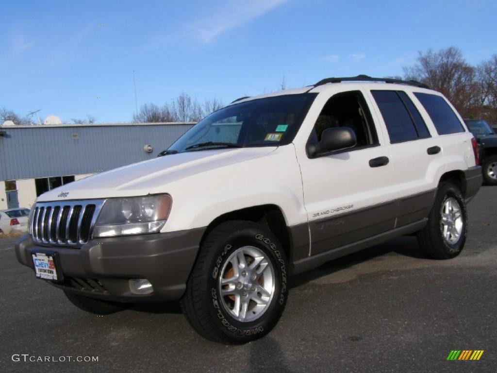 2003 Stone White Jeep Grand Cherokee Laredo 4x4 #40479168 ...
