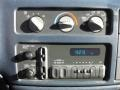 2001 Chevrolet Astro Medium Blue Interior Controls Photo