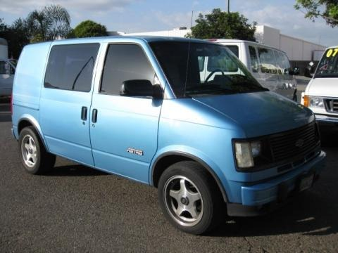 1994 Chevrolet Astro Cargo Van Data, Info and Specs
