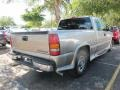 2002 Light Pewter Metallic Chevrolet Silverado 1500 Extended Cab  photo #2