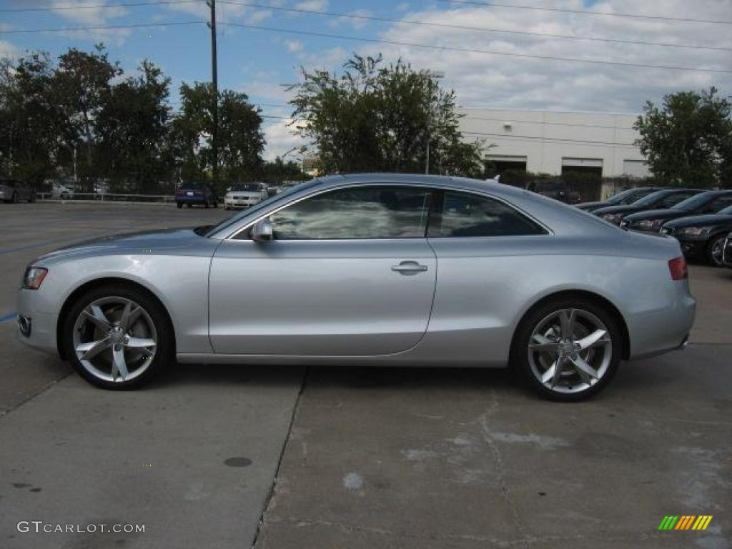 2011 ice silver metallic audi a5 2 0t quattro coupe 40551379 photo 4 car. Black Bedroom Furniture Sets. Home Design Ideas