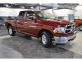 2011 Deep Cherry Red Crystal Pearl Dodge Ram 1500 SLT Quad Cab  photo #4