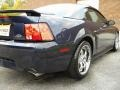 2003 True Blue Metallic Ford Mustang GT Coupe  photo #54