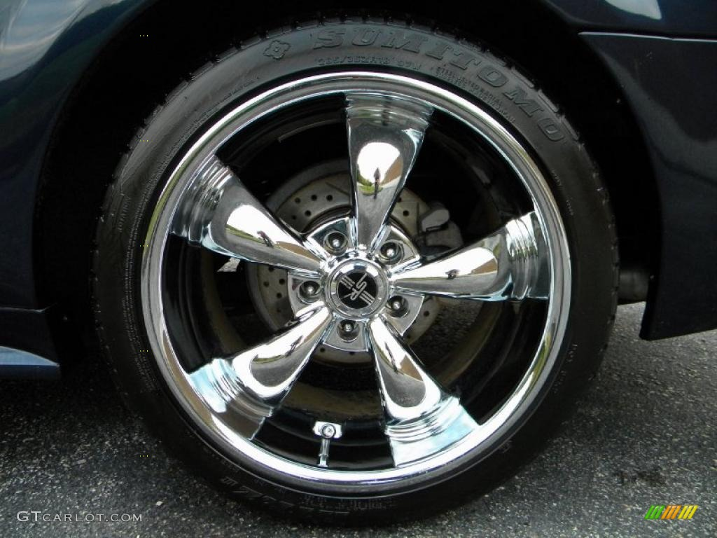 2003 Ford Mustang GT Coupe Custom Wheels Photo 40577693