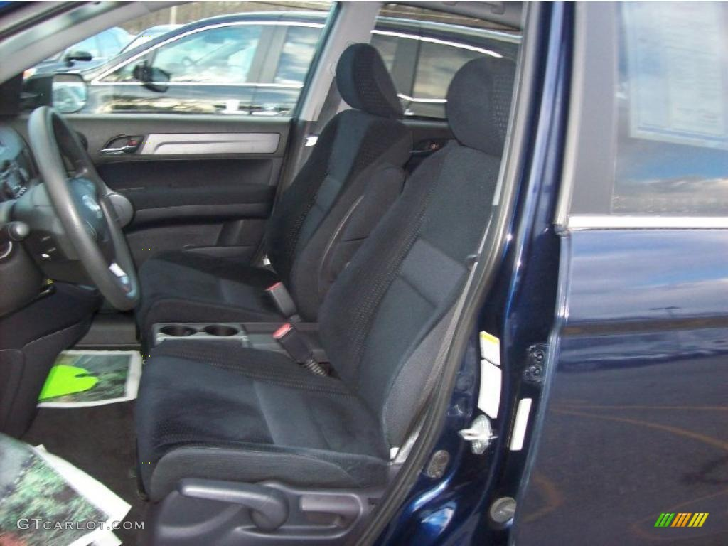 2008 CR-V EX 4WD - Royal Blue Pearl / Gray photo #5