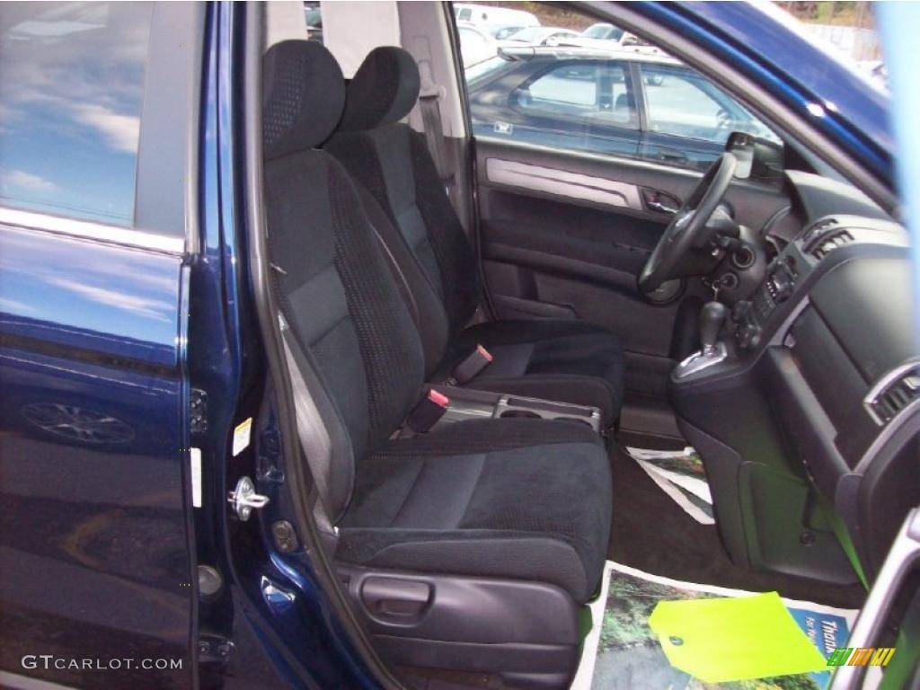2008 CR-V EX 4WD - Royal Blue Pearl / Gray photo #14