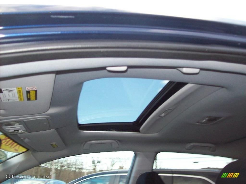 2008 CR-V EX 4WD - Royal Blue Pearl / Gray photo #20