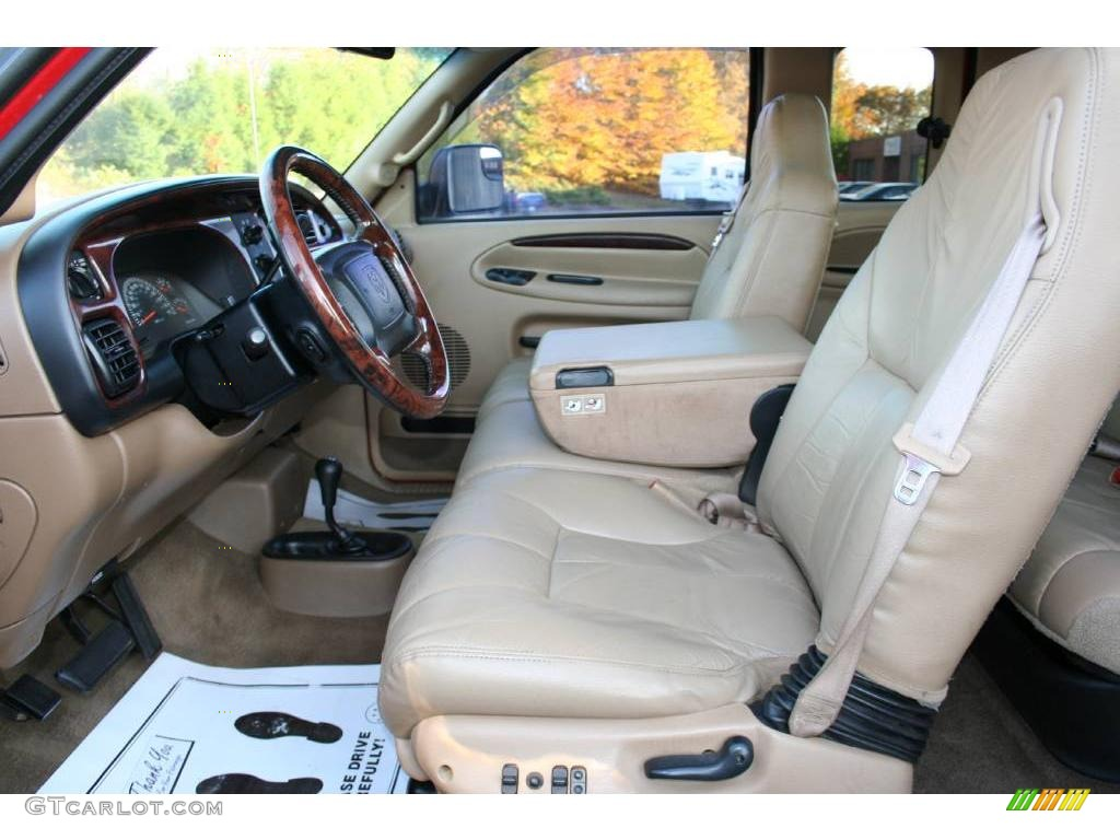beige interior 2001 dodge ram 3500 slt quad cab 4x4 dually. Black Bedroom Furniture Sets. Home Design Ideas
