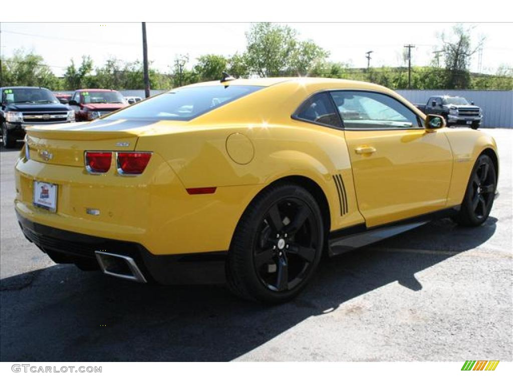 Rally Yellow 2010 Chevrolet Camaro Ss Coupe Exterior Photo