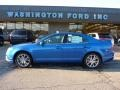 2011 Blue Flame Metallic Ford Fusion SEL  photo #1